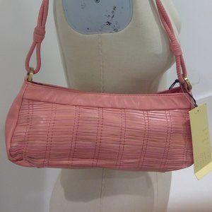 Sigrid Olsen Somerville Pink Leather Purse